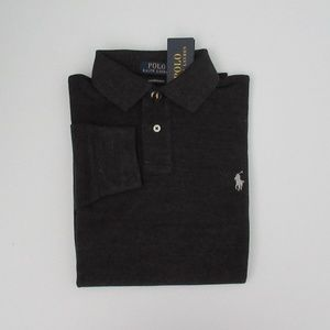 Ralph Lauren Long Sleeve Custom Slim Fit Polo NEW